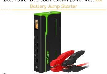 Bolt Power D29 900 Peak Amps 12-Volt Car Battery Jump Starter