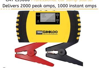 GOOLOO 1000A Peak 20800mAh Portable Car Battery Jump Starter