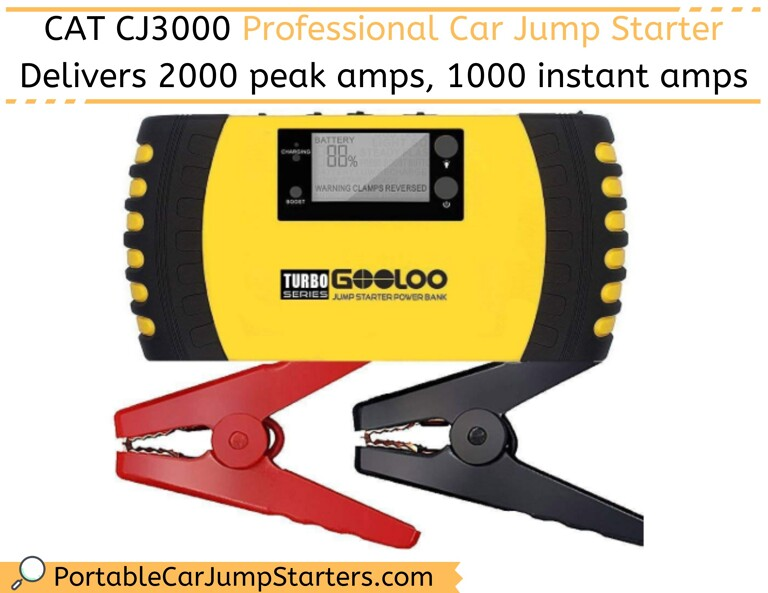 GOOLOO 1000A Peak 20800mAh Portable Car Battery Jump Starter