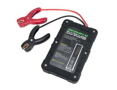 Rezervo RZ-300 Batteryless Jump Starter with Ultracapacitor Technology