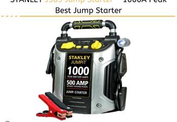 STANLEY J509 Jump Starter - 1000A Peak