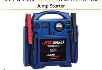 jump n carry JNC660C jump starter
